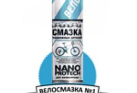 Велосмазка №1 - NANOPROTECH в Чехии